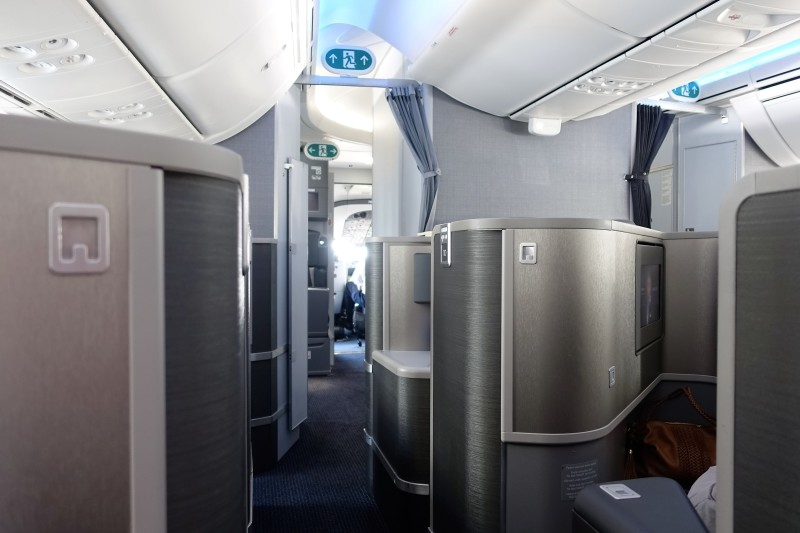 5 things you should know when choosing seats in american for Interior 787 air europa