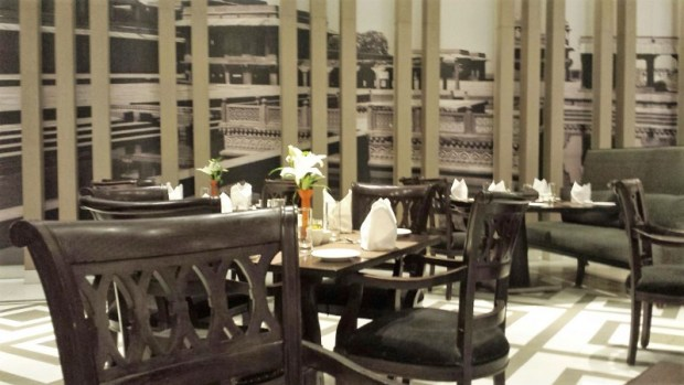 ITC Mughal restaurant decor