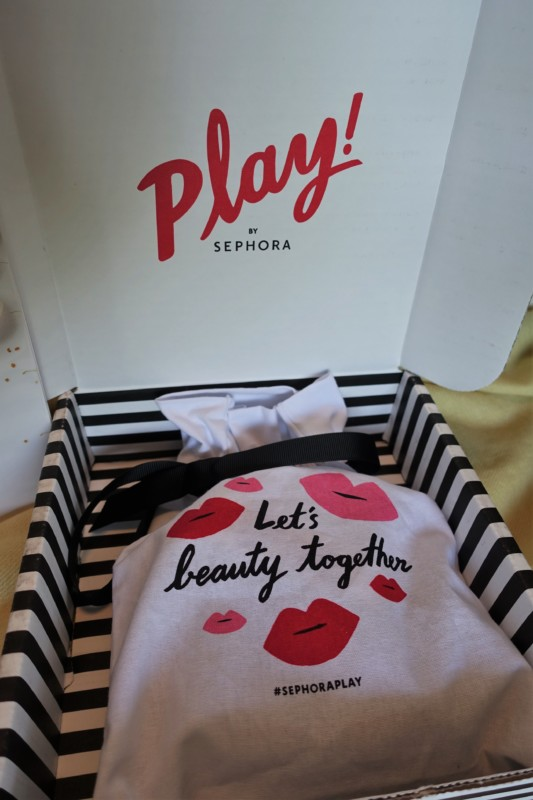 May Play by Sephora beauty box bag