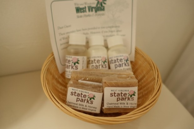 blackwater falls lodge locally made soaps