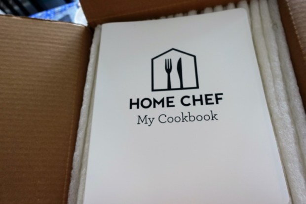home chef review recipe binder
