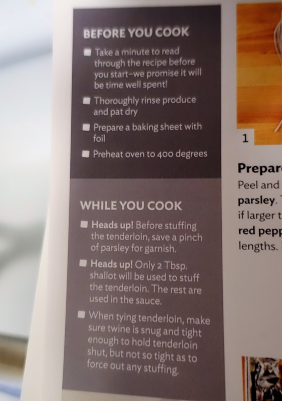 home chef review recipe tips