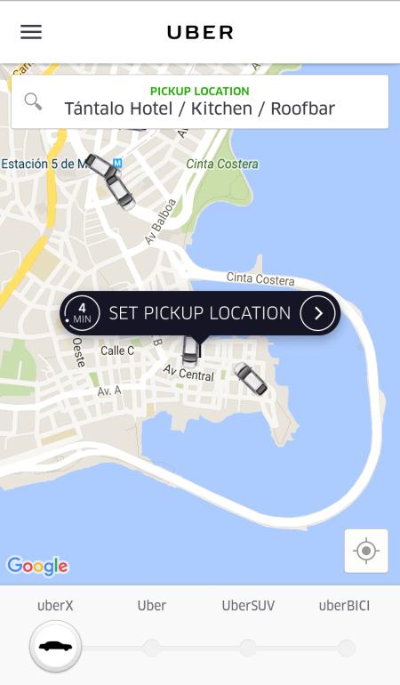 uber panama city panama