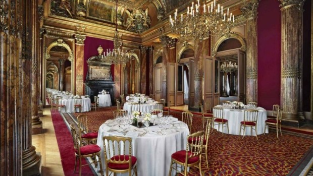 westin paris vendom dining room