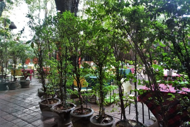 Cabbage and Condoms Bangkok Restaurant Review outdoor dining