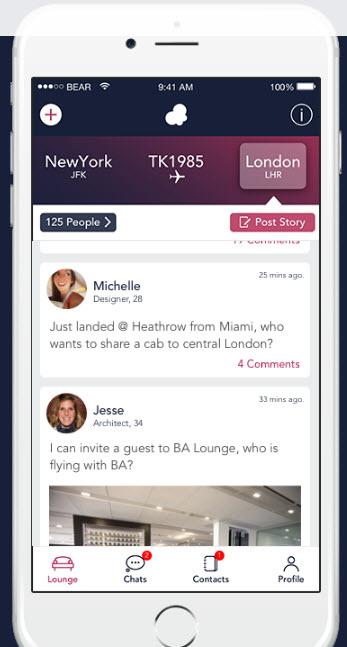 btrfly app mockup