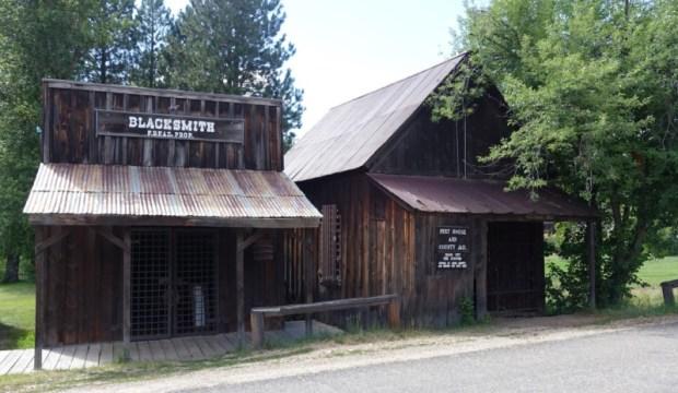 Idaho City Blacksmith Shop