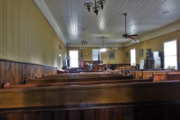 Idaho City Boise County Courthouse interior
