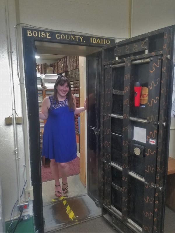 Idaho City Boise County Offices Records Vault Keri