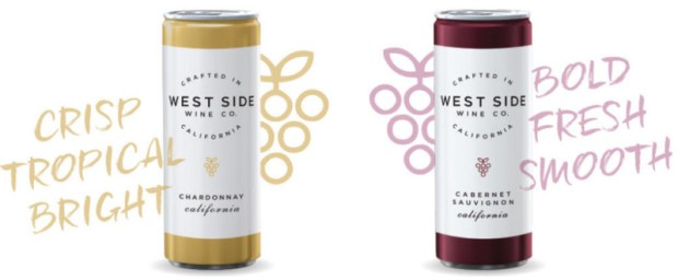westside wine co airport canned wine