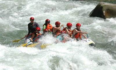 Bear Valley Rafting Banks ID Keri waves