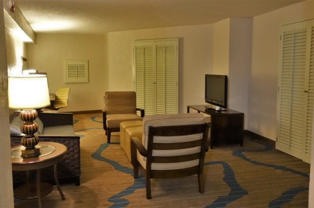 Sheraton Old San Juan Hotel Review Governors Suite Living Room