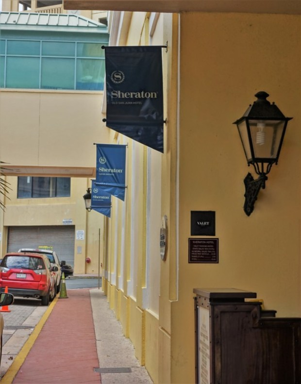 Sheraton Old San Juan Hotel Review Valet