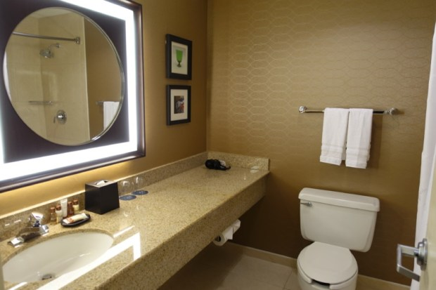 Sheraton Pittsburgh Airport Hotel Review bathroom