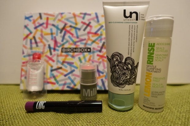 Birchbox September 2016 Contents