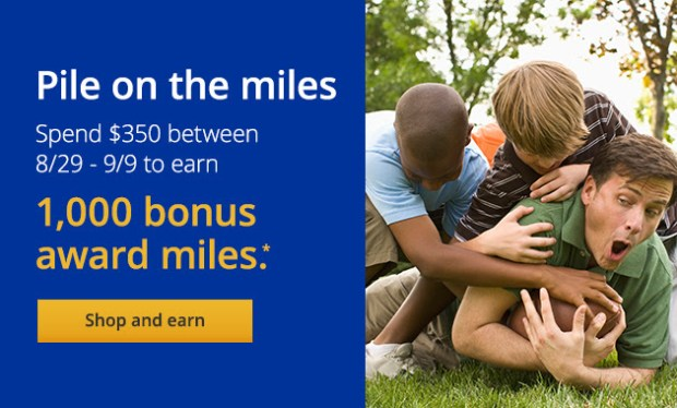United Mileage Plus Shopping bonus offer