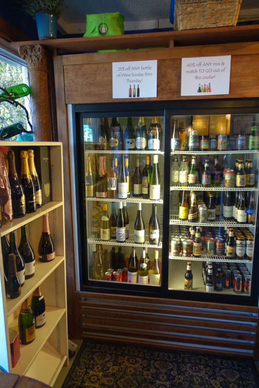 topsail-beach-nc-quartermoon-bookstore-wine-selection