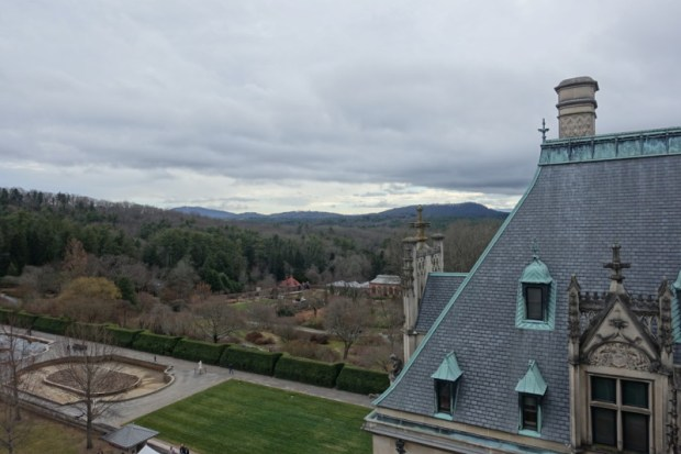Biltmore Estate Rooftop Tour Views