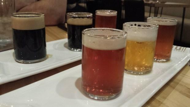 SF Beer Week Nom Founders Tap Takeover Flights