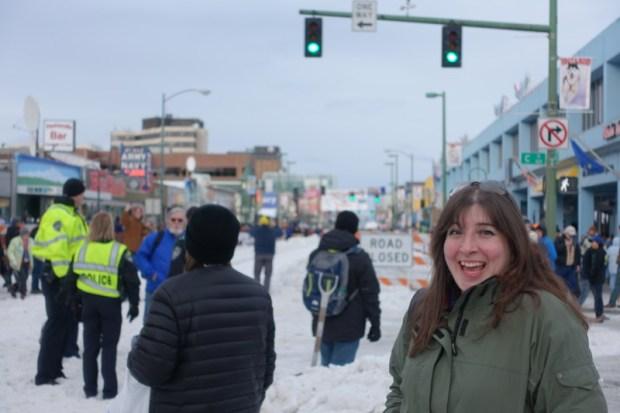 Iditarod 2016 Race Start Keri