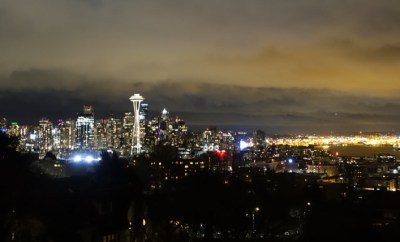 kerry park seattle nighttime featured