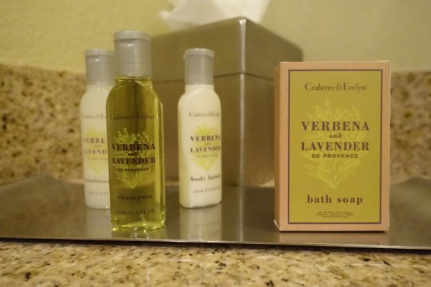Doubletree Berkeley Marina Hotel Review toiletries