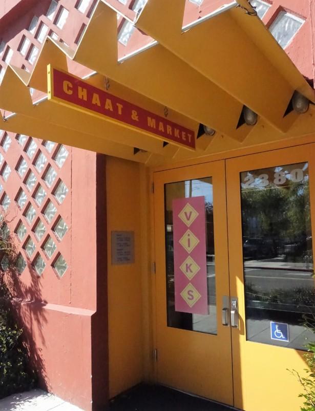 Vik's Chaat Berkeley Indian Food Entrance