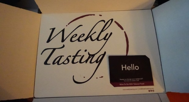Weekly Tasting Review Wine Box