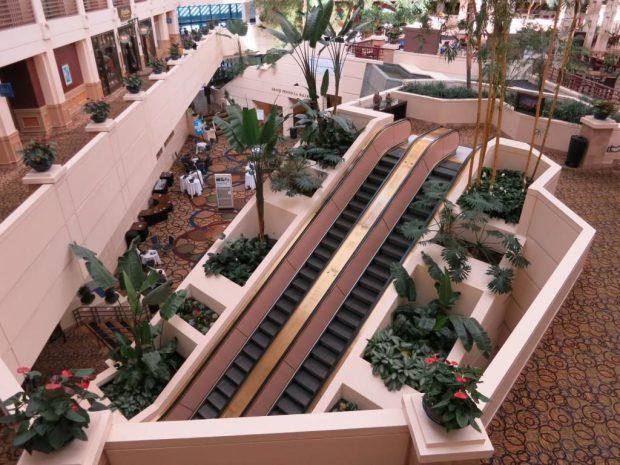 Hyatt Regency SFO Atrium pre-renovation
