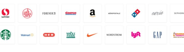 A few of the merchants participating with Drop