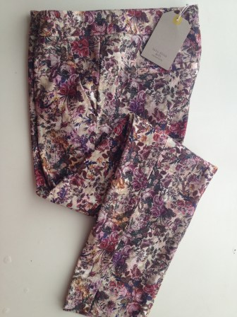 5) Zara Kids Floral Printed Trousers £19.99