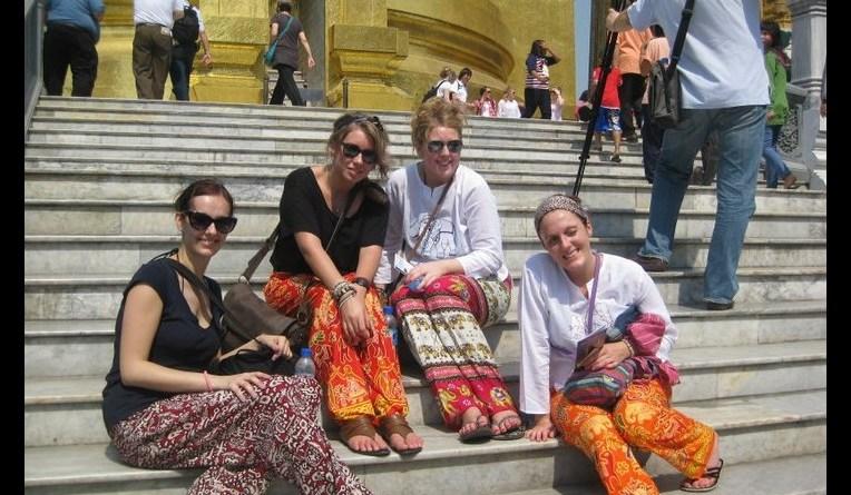 'Palace Pants' bought in Bangkok!