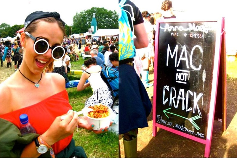 Glastonbury Food Trucks 2015