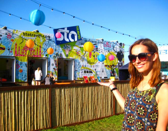 Hostel Review: STA Travel Hostel at Bestival