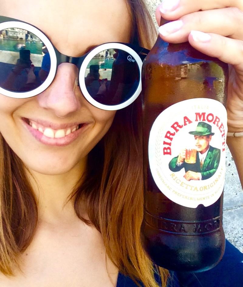 Birra in Vernazza