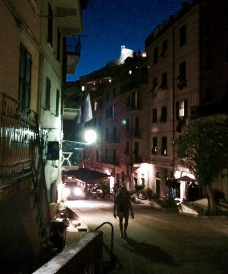 Riomaggiore at Night
