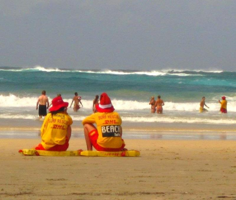 Christmas Lifeguards