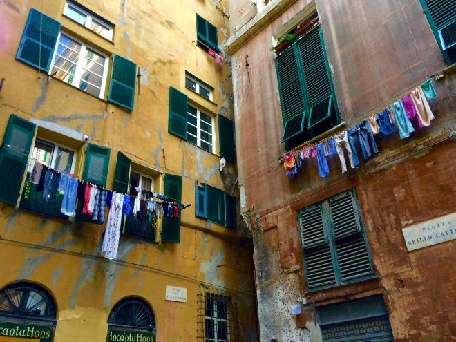 Back Streets of Genoa