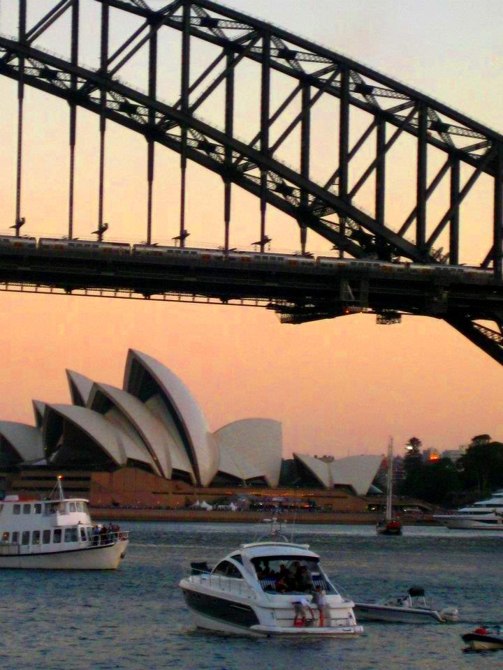 Syney Harbour Bridge from Milson's Point