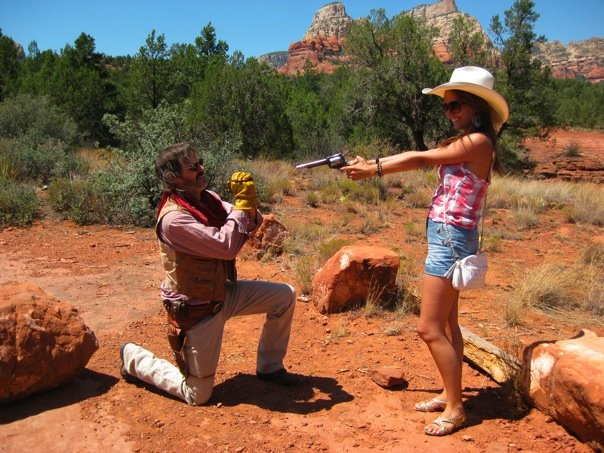 Being a Cowboy in Arizona