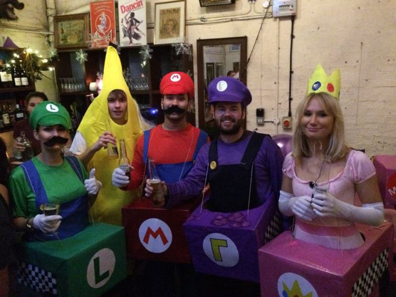 Mario Kart Fancy Dress