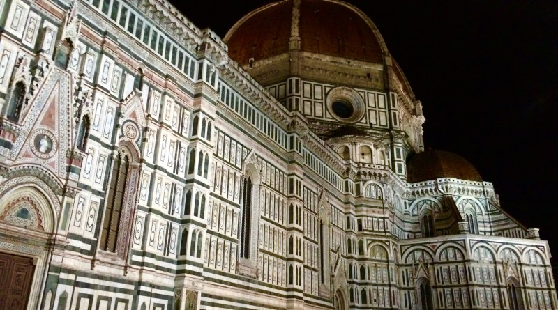 Il Duomo at night, Florence