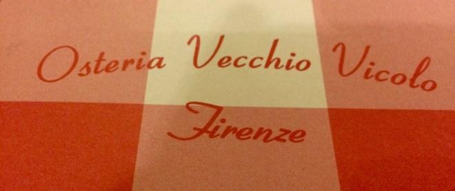 Osteria Vecchio Vicolo Firenze