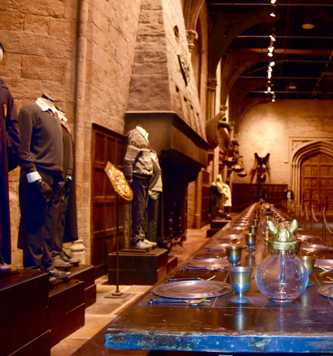 Making of Harry Potter - Great Hall