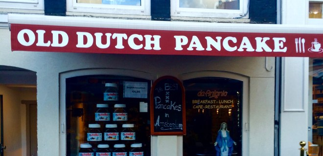 Old Dutch Pancakes in Amsterdam