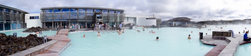 Blue Lagoon, Iceland - Panoramic