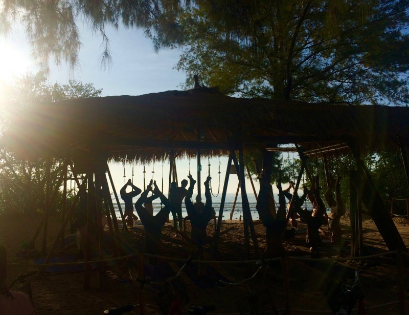 Bike ride on Gili T
