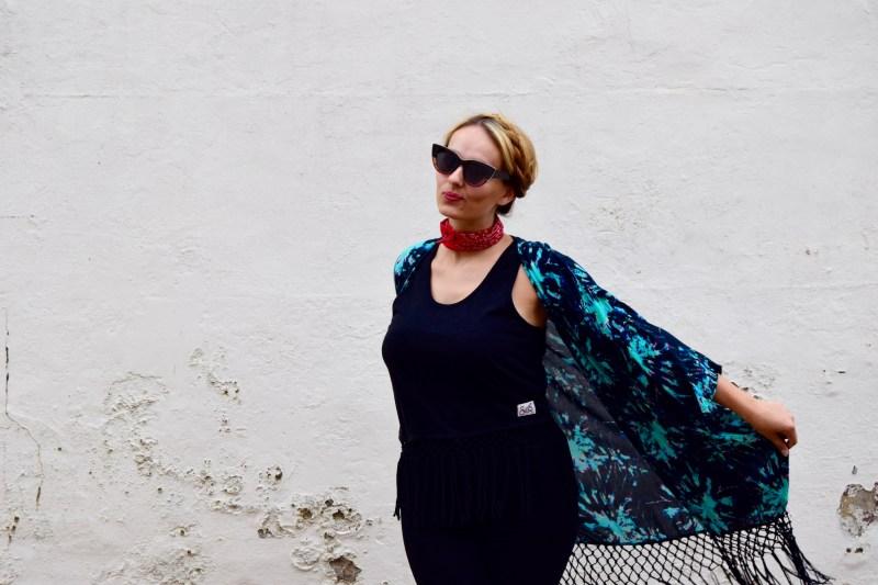Superdry kimono outfit