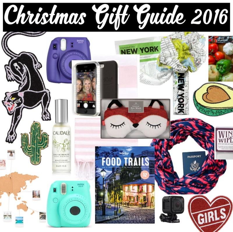 Christmas Gift Guide 2016 - Heels In My Backpack