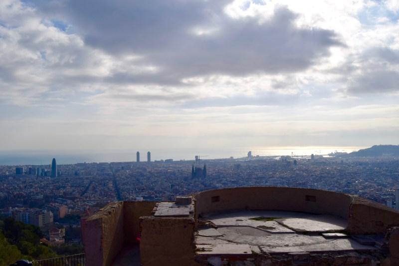 Carmel Bunkers, Barcelona
